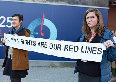 Local Activists at COP25