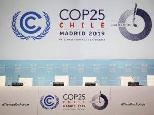 Empty panel at COP25